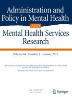 Administration and Policy in Mental Health and Mental Health Services Research 1/2017