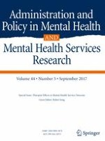 Administration and Policy in Mental Health and Mental Health Services Research 5/2017