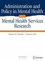 Administration and Policy in Mental Health and Mental Health Services Research 1/2018