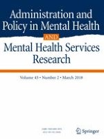 Administration and Policy in Mental Health and Mental Health Services Research 2/2018