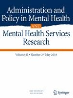 Administration and Policy in Mental Health and Mental Health Services Research 3/2018