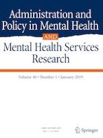 Administration and Policy in Mental Health and Mental Health Services Research 1/2019