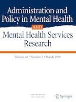 Administration and Policy in Mental Health and Mental Health Services Research 2/2019