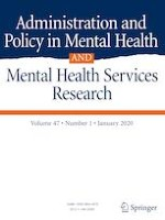 Administration and Policy in Mental Health and Mental Health Services Research 1/2020