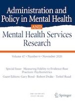 Administration and Policy in Mental Health and Mental Health Services Research 6/2020