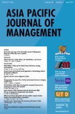 Asia Pacific Journal of Management 2/2011