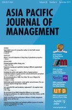 Asia Pacific Journal of Management 4/2011