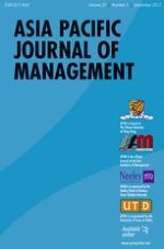 Asia Pacific Journal of Management 3/2012