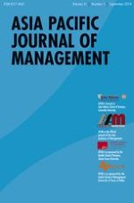 Asia Pacific Journal of Management 3/2014