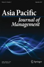 Asia Pacific Journal of Management 3/2017