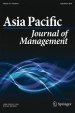 Asia Pacific Journal of Management 3/2018