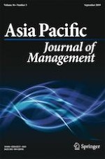 Asia Pacific Journal of Management 3/2019