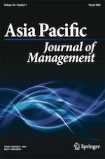 Asia Pacific Journal of Management 1/2021