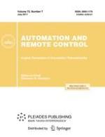 Automation and Remote Control 7/2011