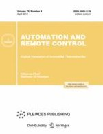 Automation and Remote Control 4/2014