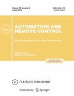 Automation and Remote Control 8/2014