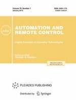 Automation and Remote Control 1/2015