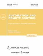 Automation and Remote Control 6/2015