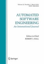 Automated Software Engineering 1/2015