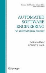 Automated Software Engineering 2/2015