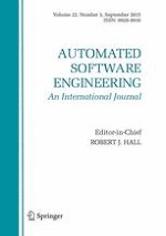 Automated Software Engineering 3/2015