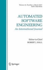 Automated Software Engineering 1/2017