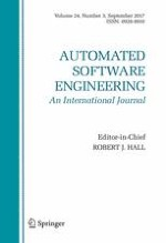 Automated Software Engineering 3/2017