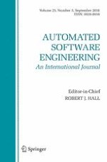 Automated Software Engineering 3/2018