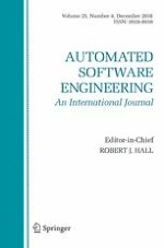 Automated Software Engineering 4/2018