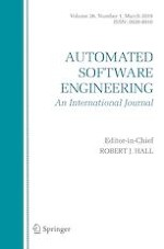 Automated Software Engineering 1/2019