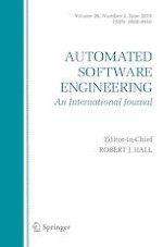 Automated Software Engineering 2/2019