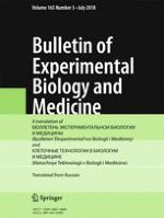 Bulletin of Experimental Biology and Medicine 3/2018