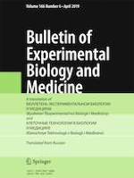 Bulletin of Experimental Biology and Medicine 6/2019