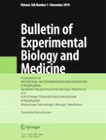 Bulletin of Experimental Biology and Medicine 1/2019