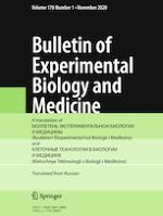 Bulletin of Experimental Biology and Medicine 1/2020