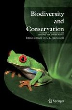 Biodiversity and Conservation 13/2008