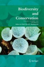 Biodiversity and Conservation 1/2012
