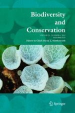 Biodiversity and Conservation 6/2012