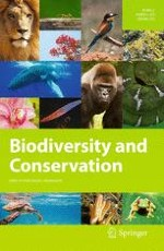 Biodiversity and Conservation 4/2013