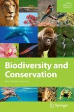 Biodiversity and Conservation 1/2014