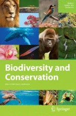 Biodiversity and Conservation 4/2014