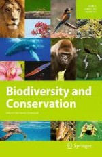 Biodiversity and Conservation 1/2015