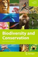 Biodiversity and Conservation 14/2018