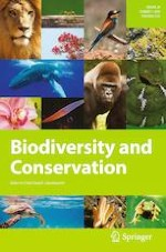 Biodiversity and Conservation 1/2019