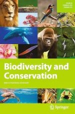 Biodiversity and Conservation 4/2019