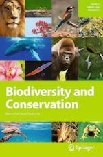 Biodiversity and Conservation 5/2019