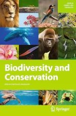 Biodiversity and Conservation 7/2019