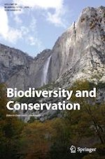 Biodiversity and Conservation 11-12/2020