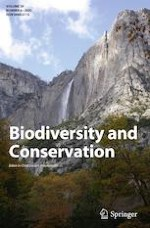 Biodiversity and Conservation 6/2020