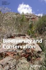 Biodiversity and Conservation 10/2021
